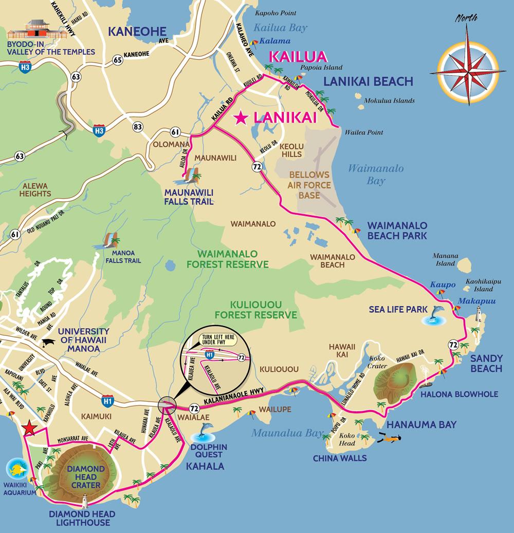 Map-Lanikai