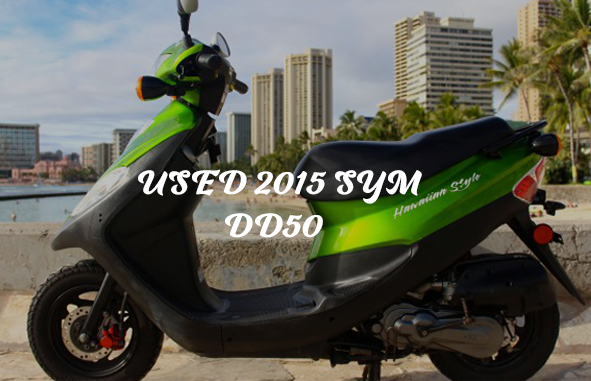 Used 2015 Sym Dd50 Hawaii Moped Rentals Scooter Rentals